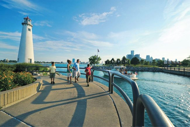 Belle Isle, places to visit in Detroit