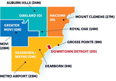 Detroit maps