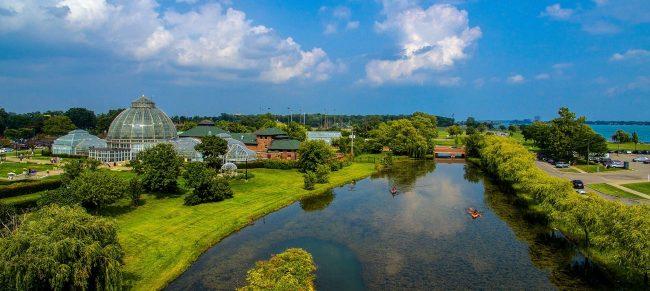 Belle Isle Aerial view