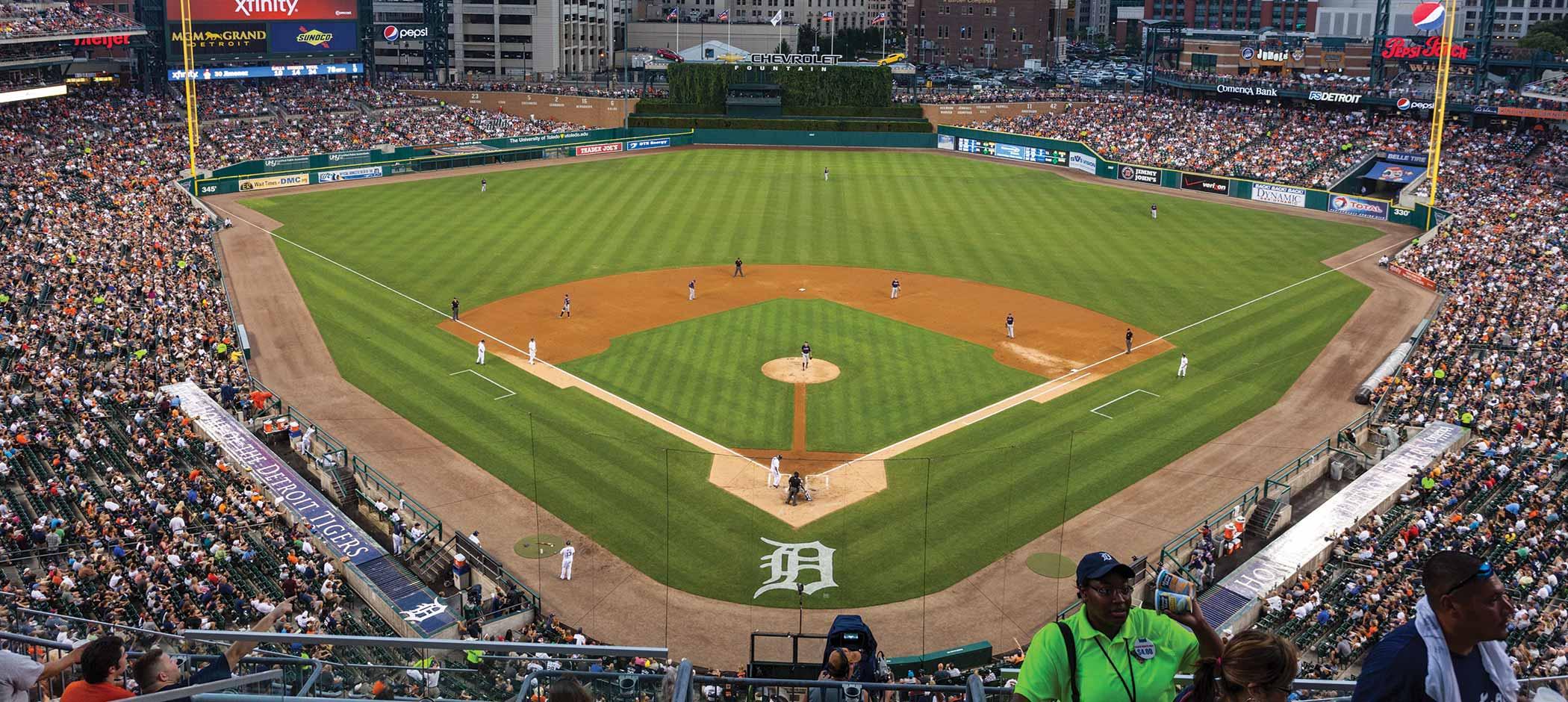 Comerica Park | Detroit Tigers Baseball Stadium ...