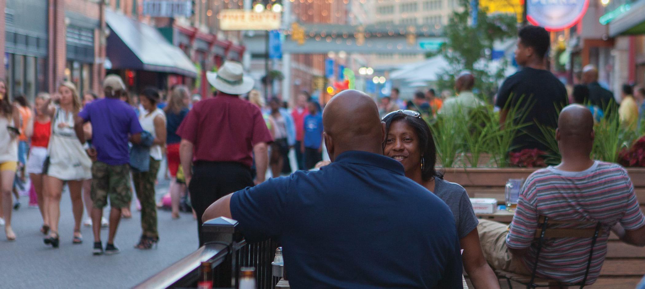 Enjoy downtown Detroit in Greektown, one of Detroit's points of interest