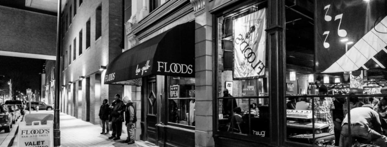 Flood's Bar & Grille in downtown Detroit