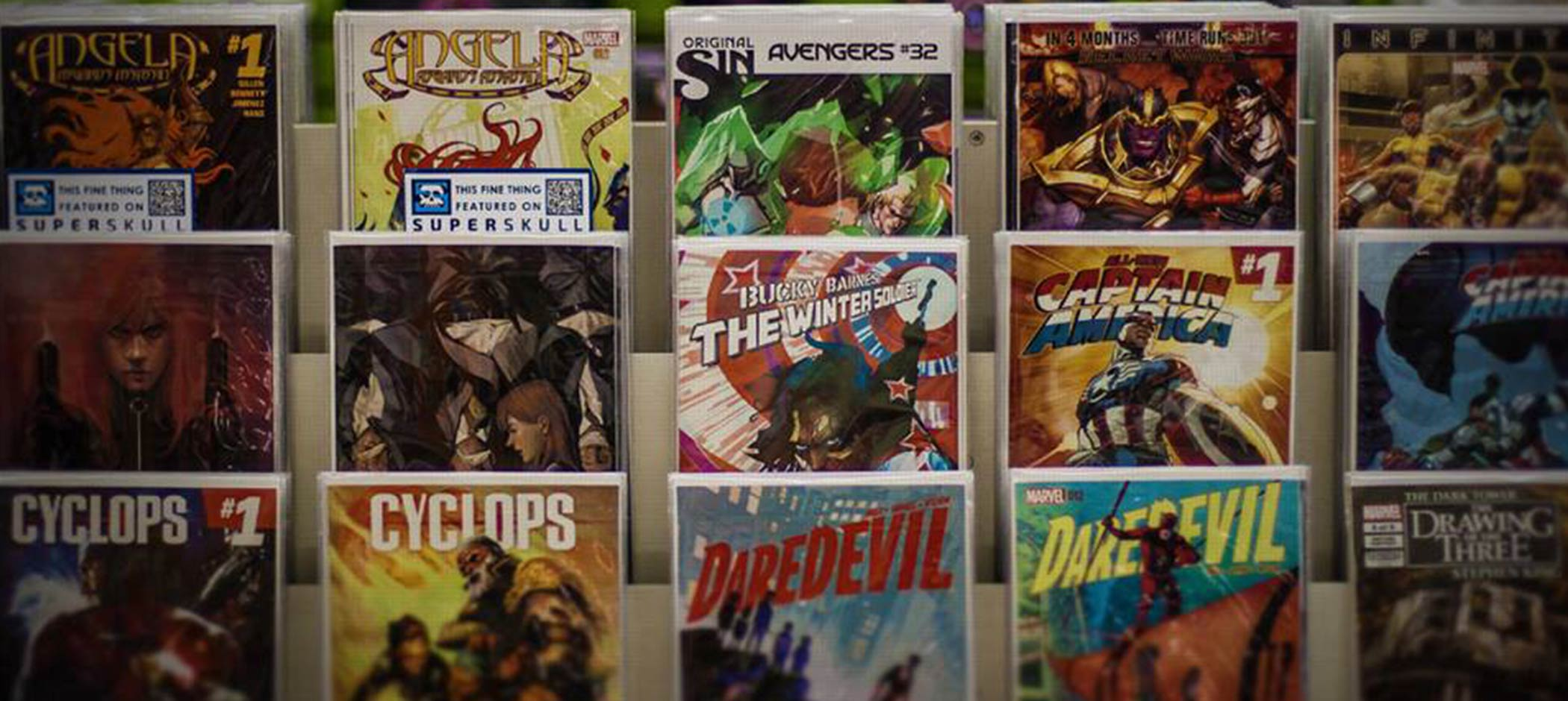 Vault at Midnight comic books