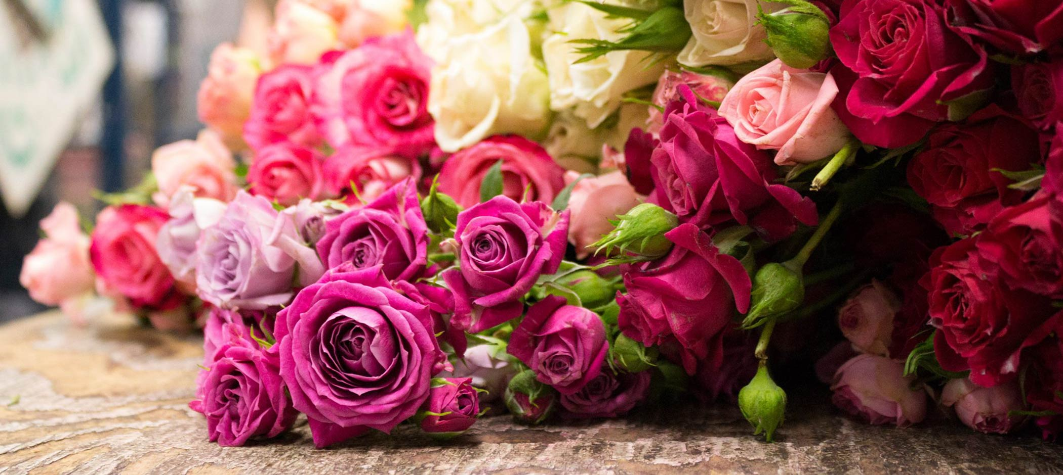 Viviano's Flower Shop roses