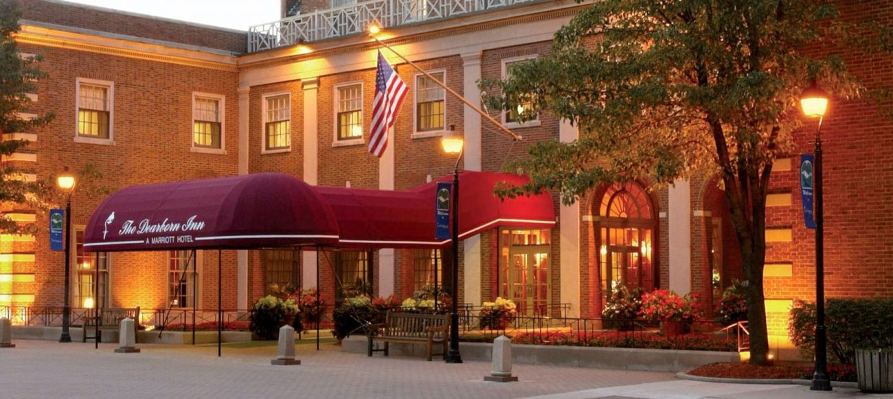 The Dearborn Inn, a Dearborn Michigan hotel