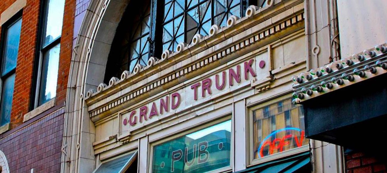 Grand Trunk Pub entrance