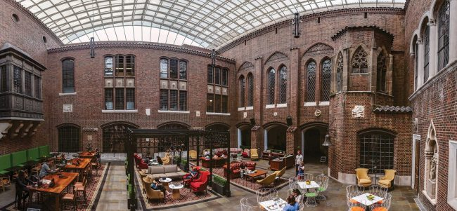 Visit Kresge Court in the Detroit Institute of Arts