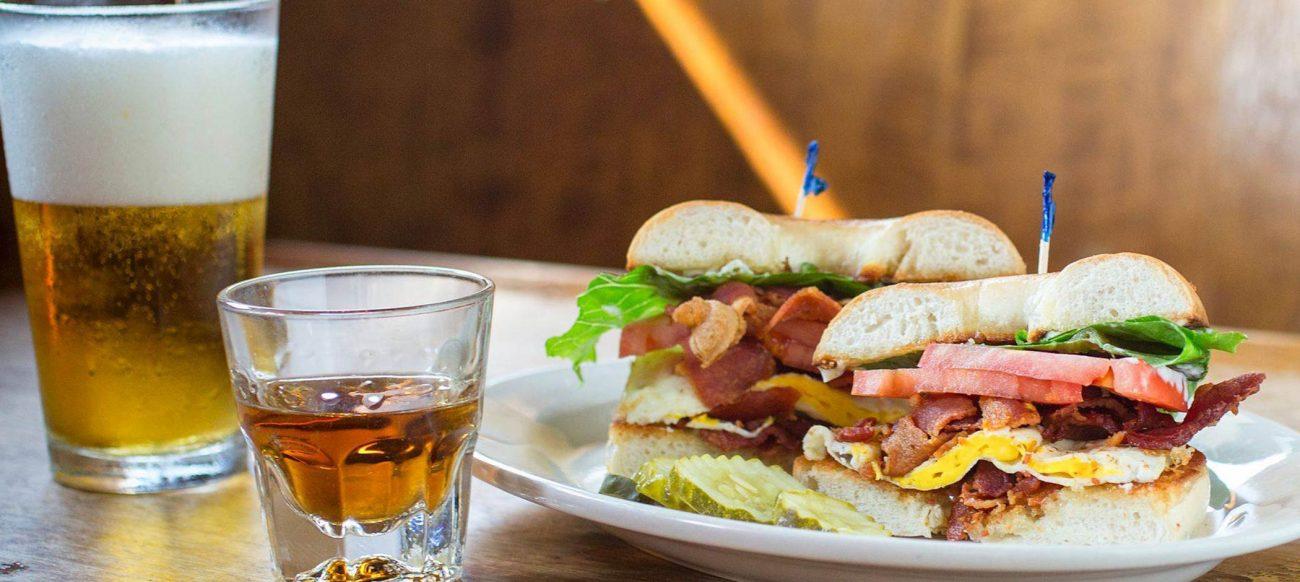 Honest John's sandwich
