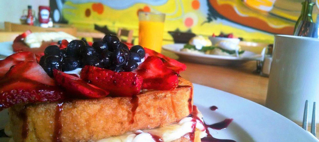 Hudson Café breakfast, a downtown restaurant