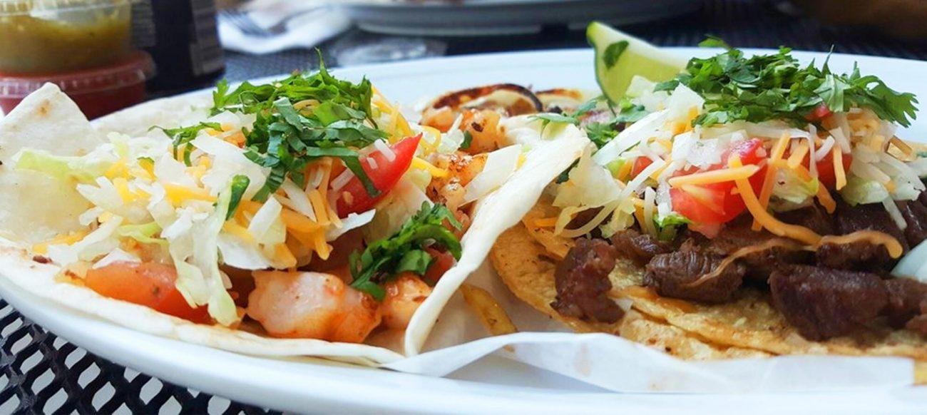 Jose's Tacos food