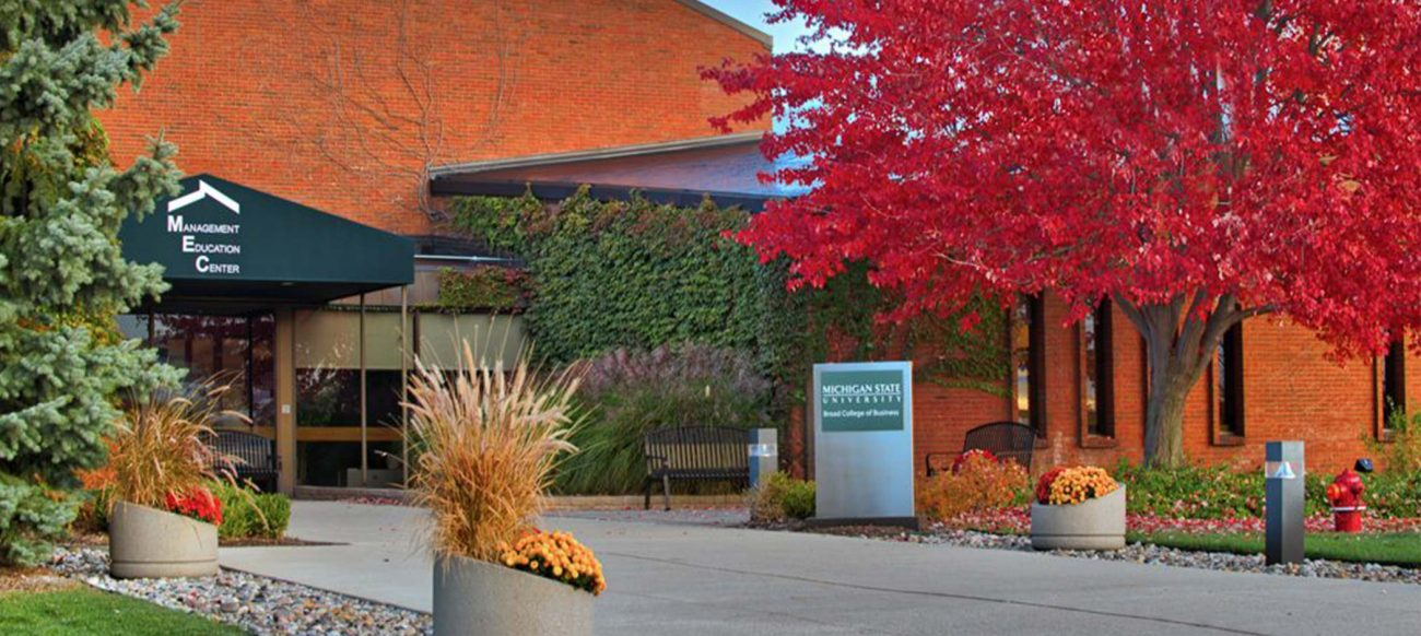 Management Education Center MSU exterior