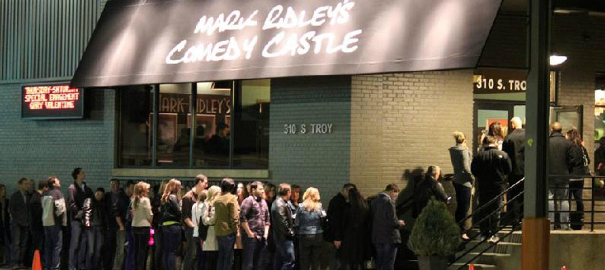 Mark Ridley's Comedy Castle exterior