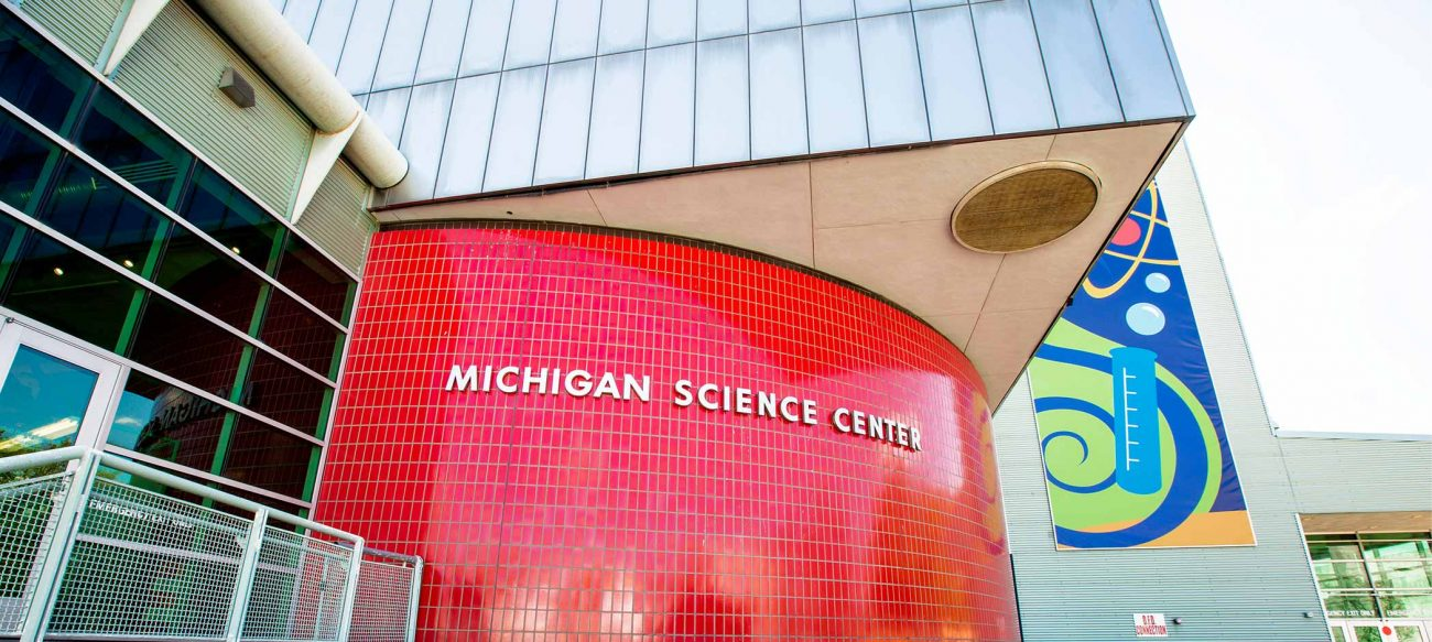 Michigan Science Center exterior