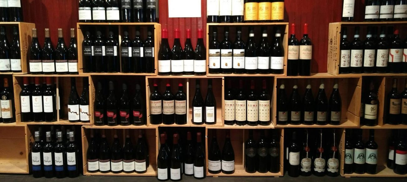 Motor City Wine selection in Corktown Detroit