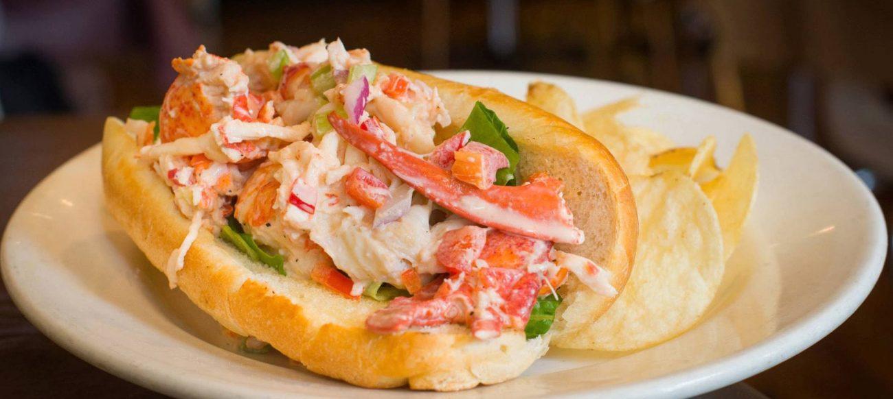 Mudgie's Deli seafood sandwich