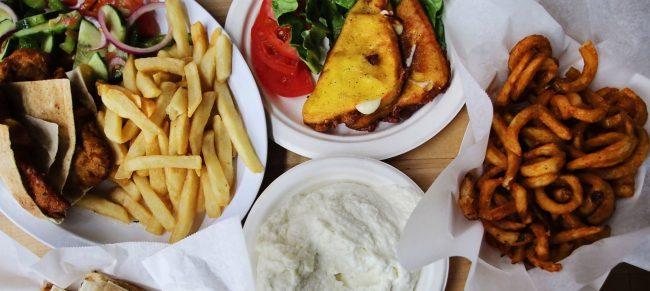 Bucharest Grill food, a Corktown Detroit restaurant