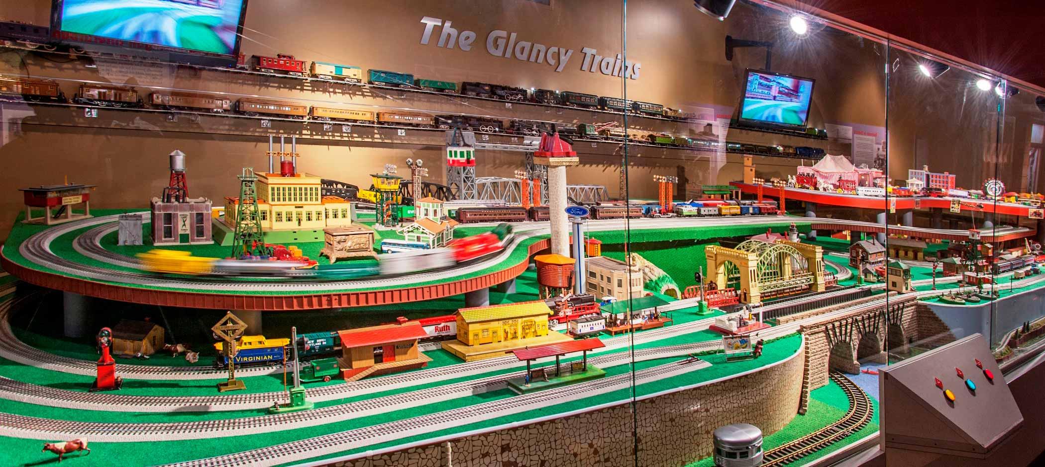Detroit Historical Museum The Glancy Trains