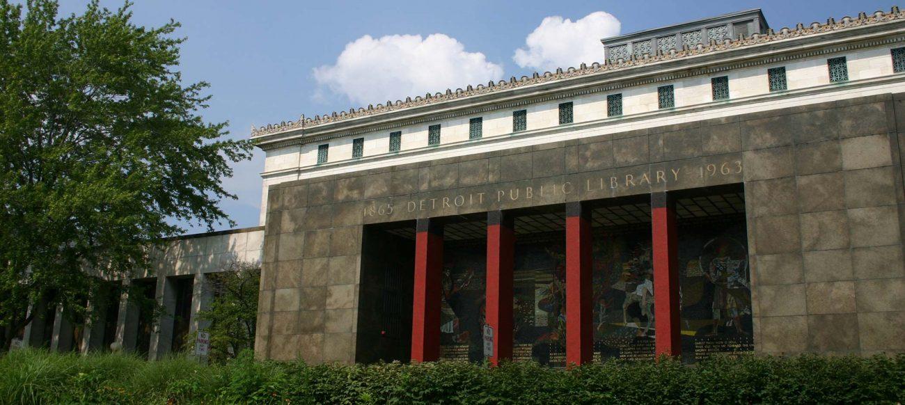 Detroit Public Library exterior