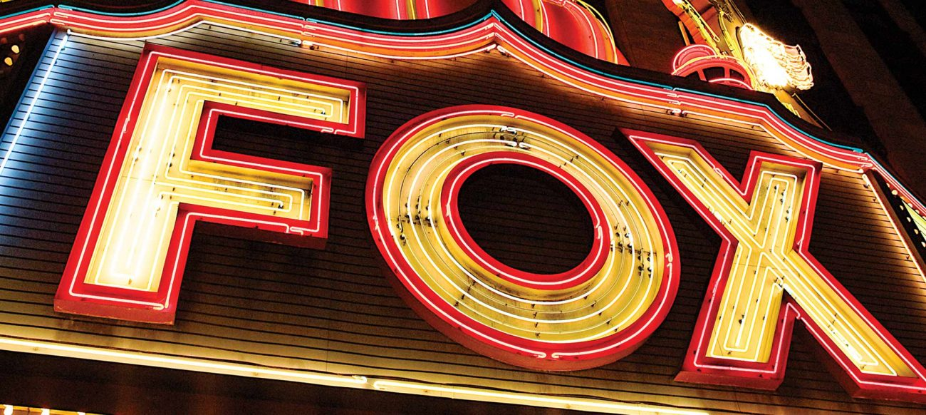 Fox Theatre marquee