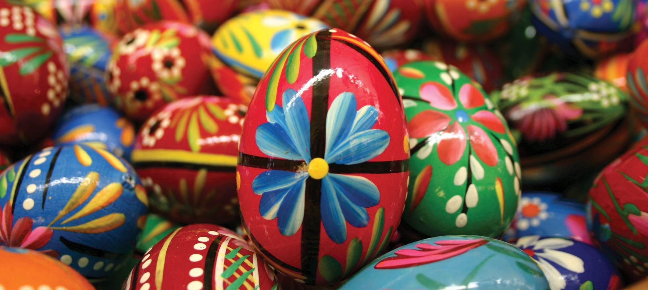 Polish Art Center decorated eggs