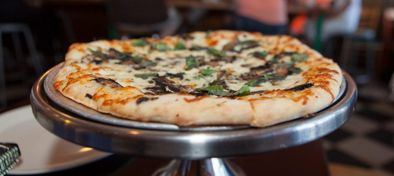Supino Pizzeria pizza