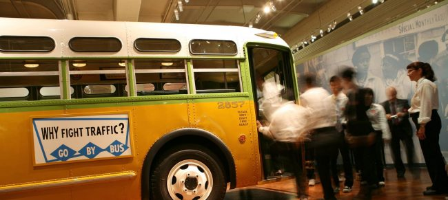The Henry Ford Museum Rosa Parks Bus is a great Detroit museum