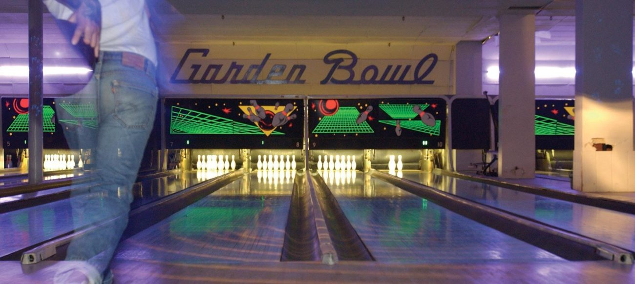 Garden Bowl lanes in Midtown Detroit