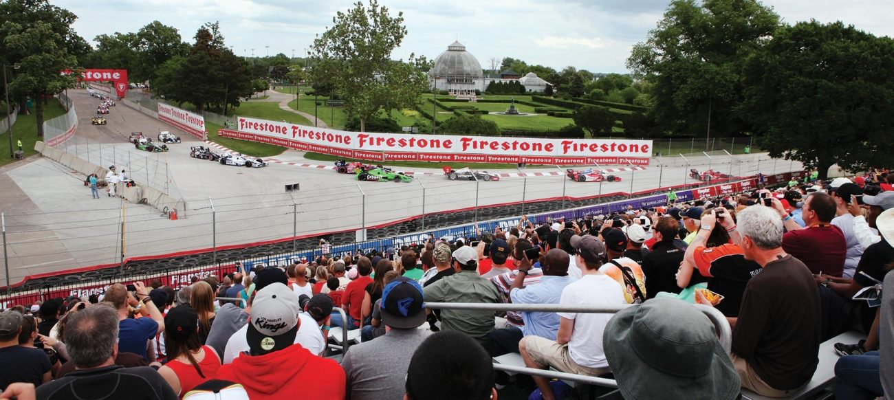 Detroit Grand Prix on Belle Isle Park, racetrack