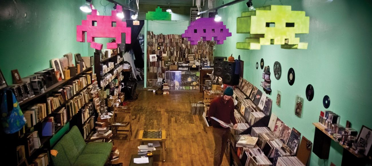 Lo & Behold Records and Books store