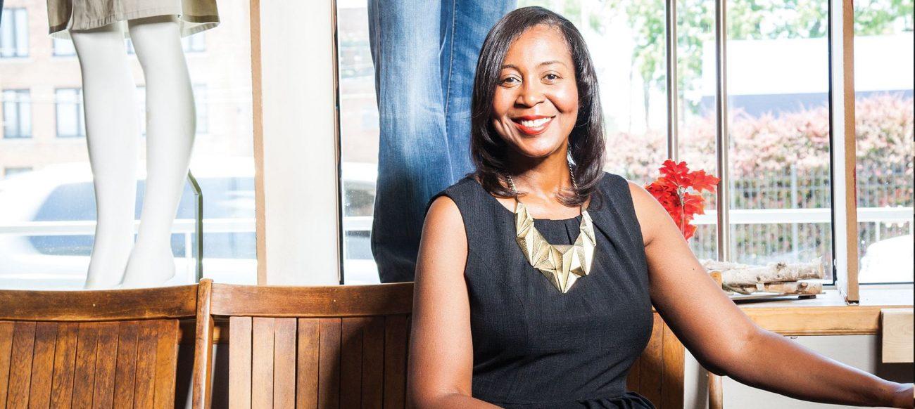 Portrait of Devita Davison