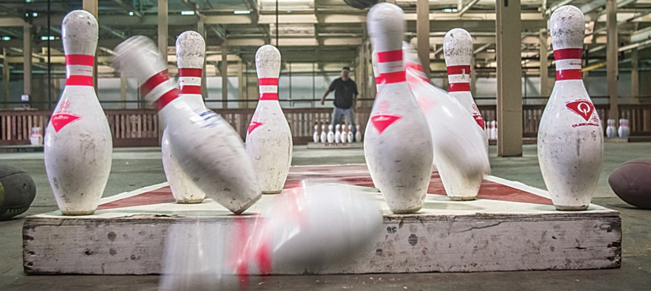 Bowling pins at Fowling Warehouse