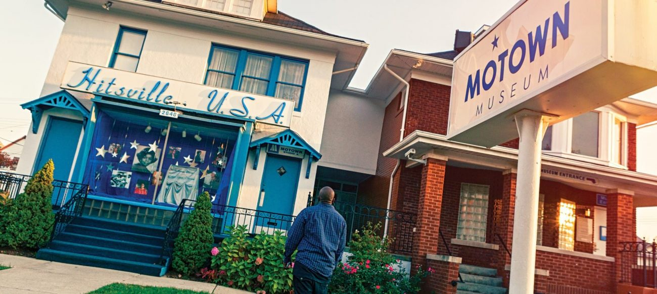 Motown Museum building exterior