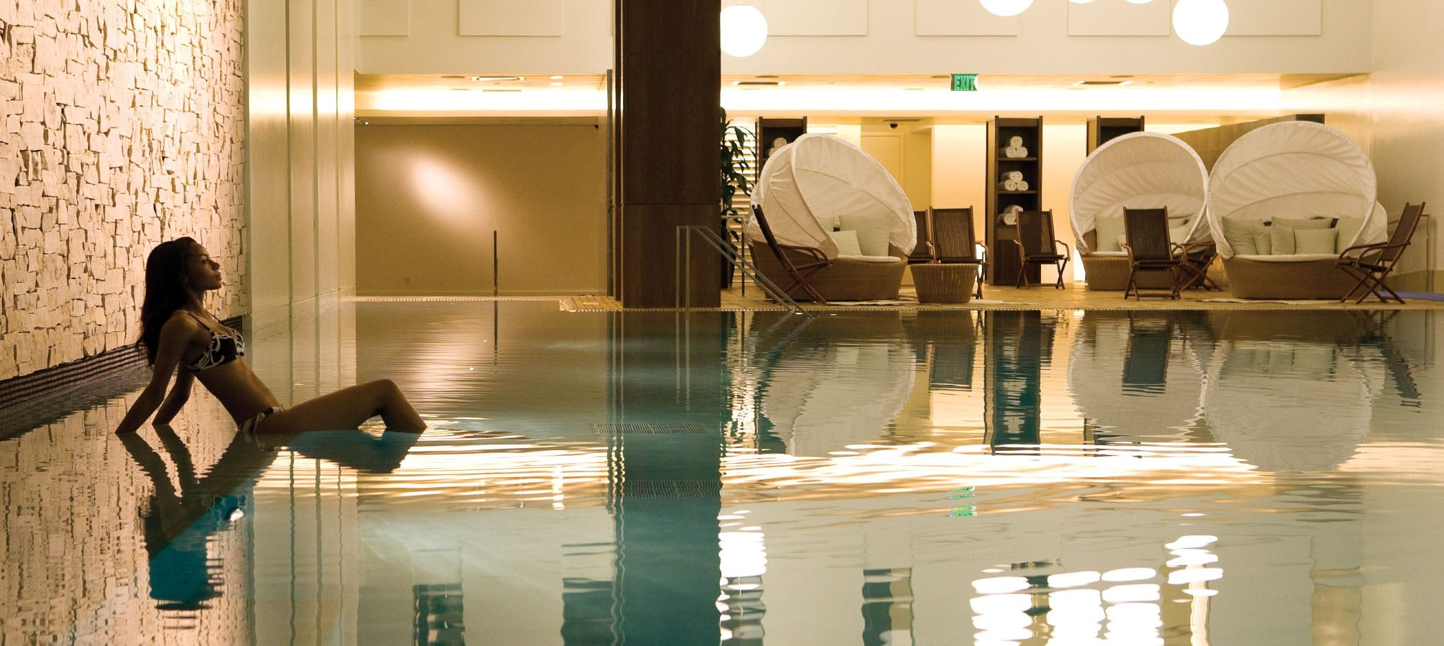 MGM Grand Detroit pool