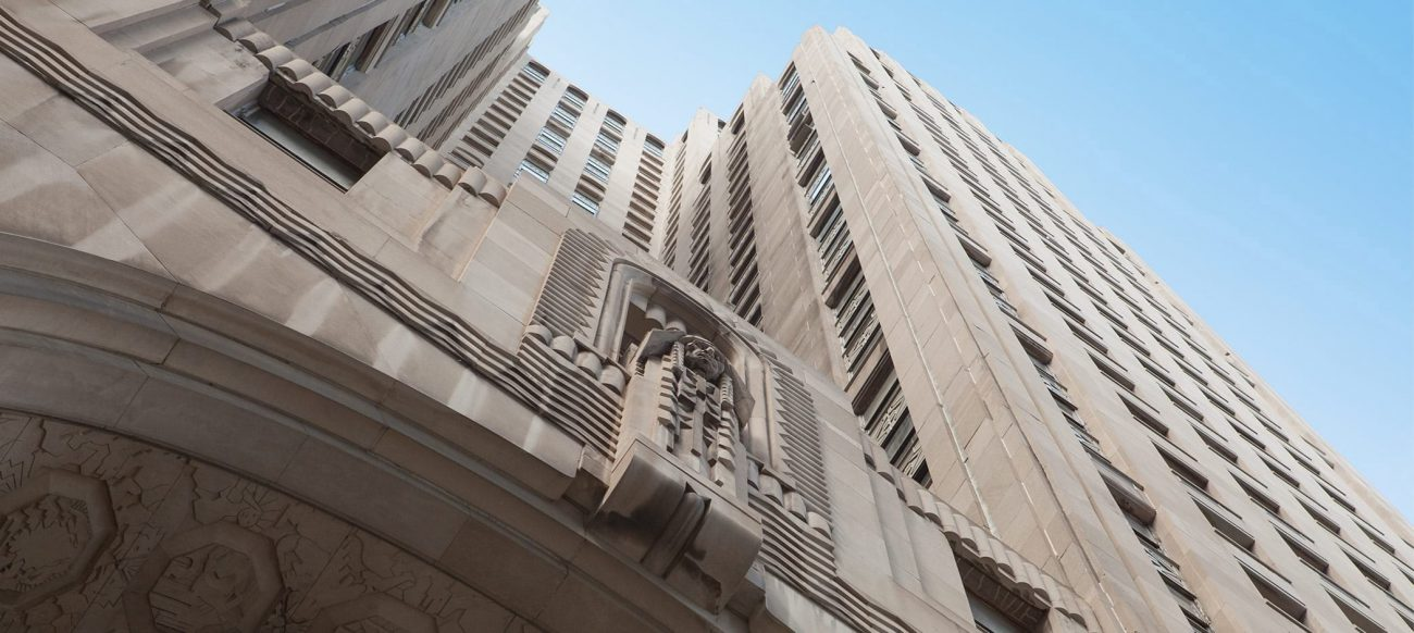 Penobscot Building exterior