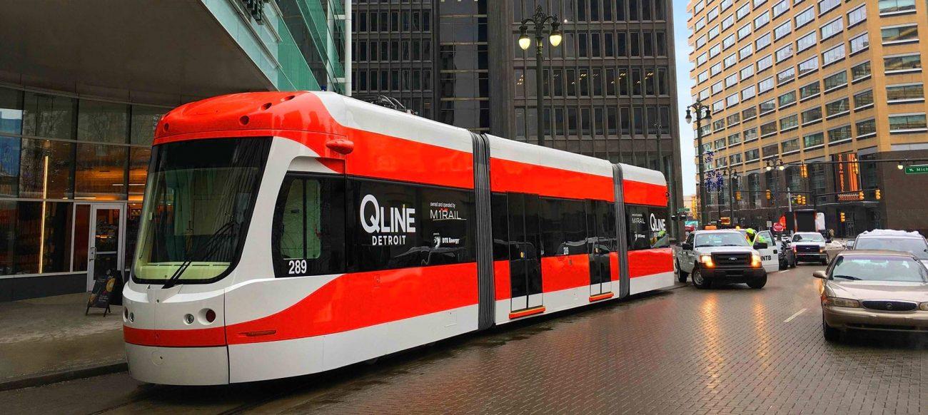 QLine M1 Rail Detroit