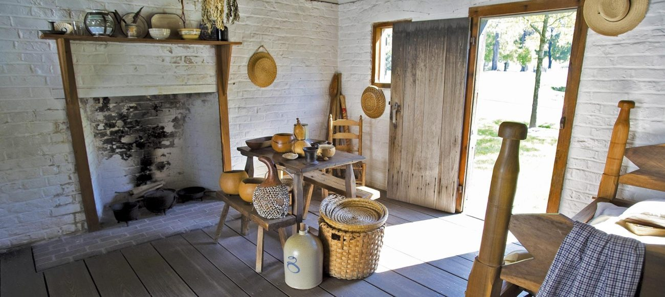 Greenfield Village Hermitage Slave Quarters