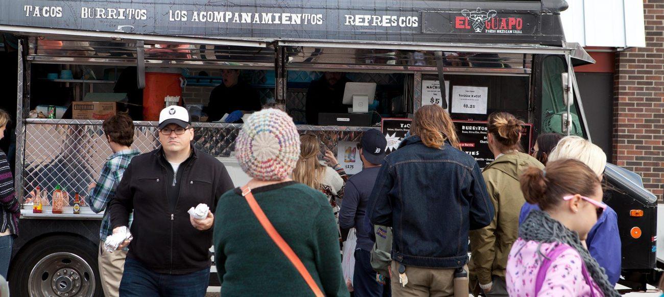 El Guapo food truck for Cinco de Mayo