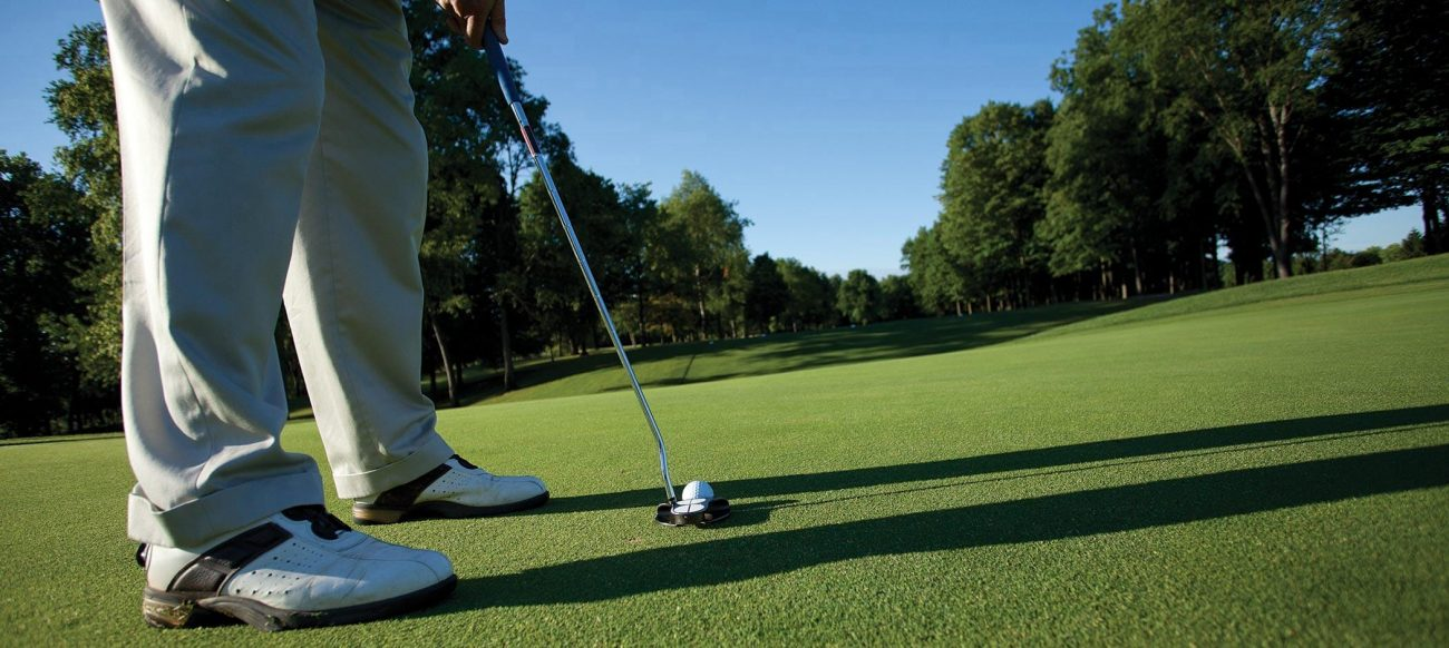 Golfing at the Inn at St. John's in Plymouth, Michigan
