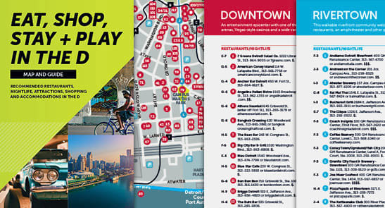 Metro Detroit Meeting Planner Maps VisitDetroitcom