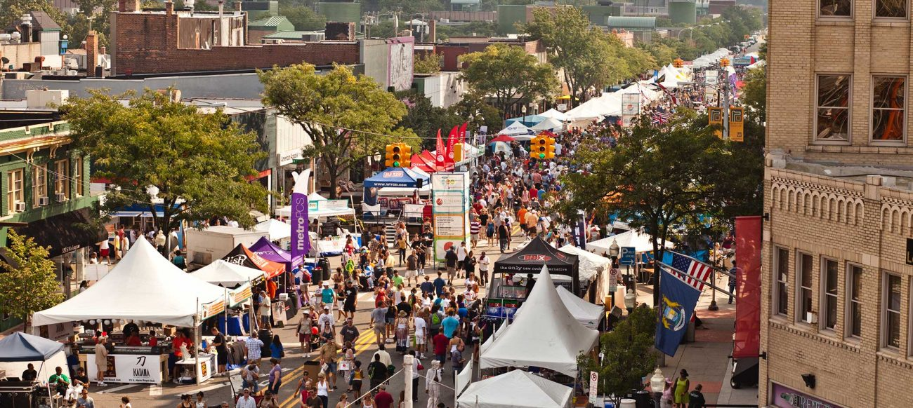 Arts Beats & Eats Michigan festival and fair in Royal Oak, Michigan