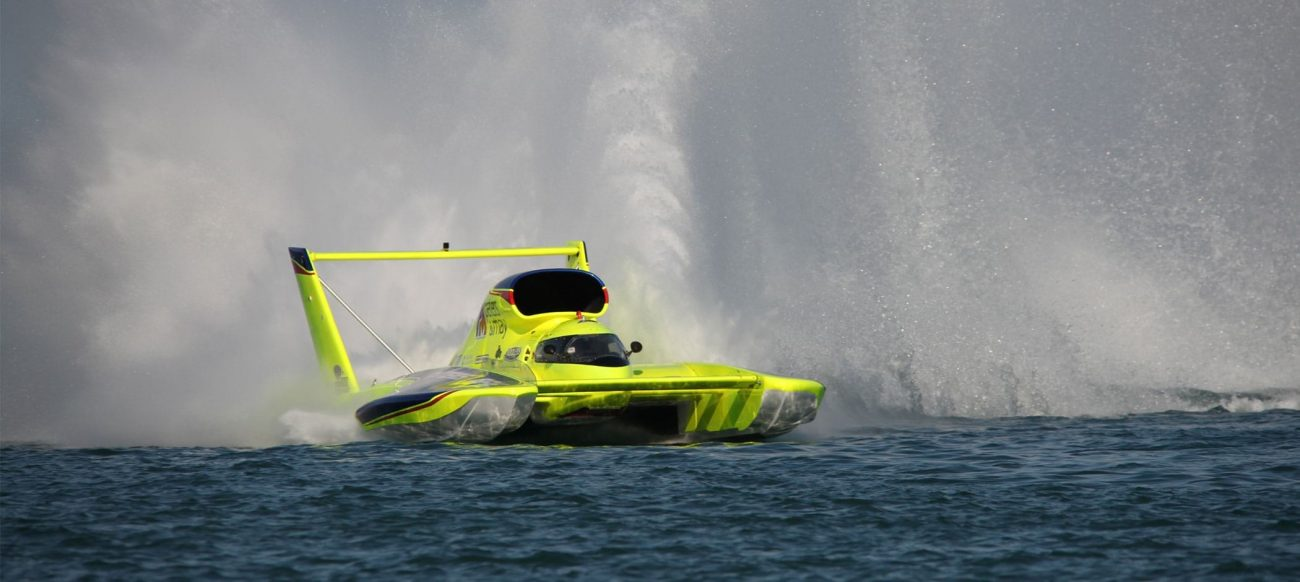 Spirit of Detroit Hydrofest speedboat