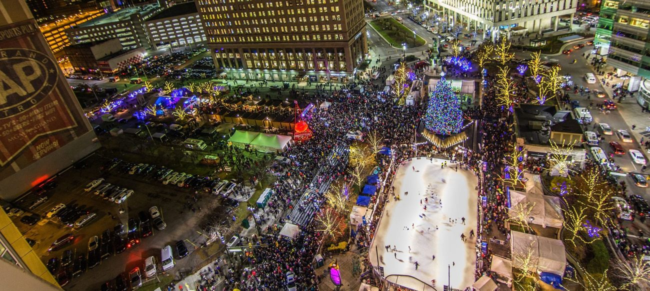 campus martius tree lighting