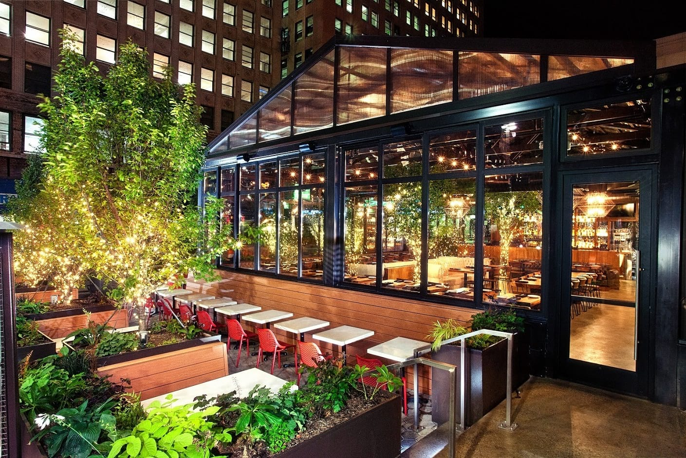 Outdoor Seating Restaurants In Detroit