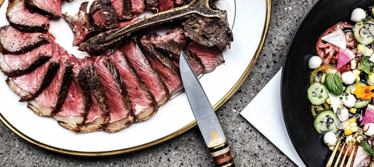 Steak at Prime + Proper
