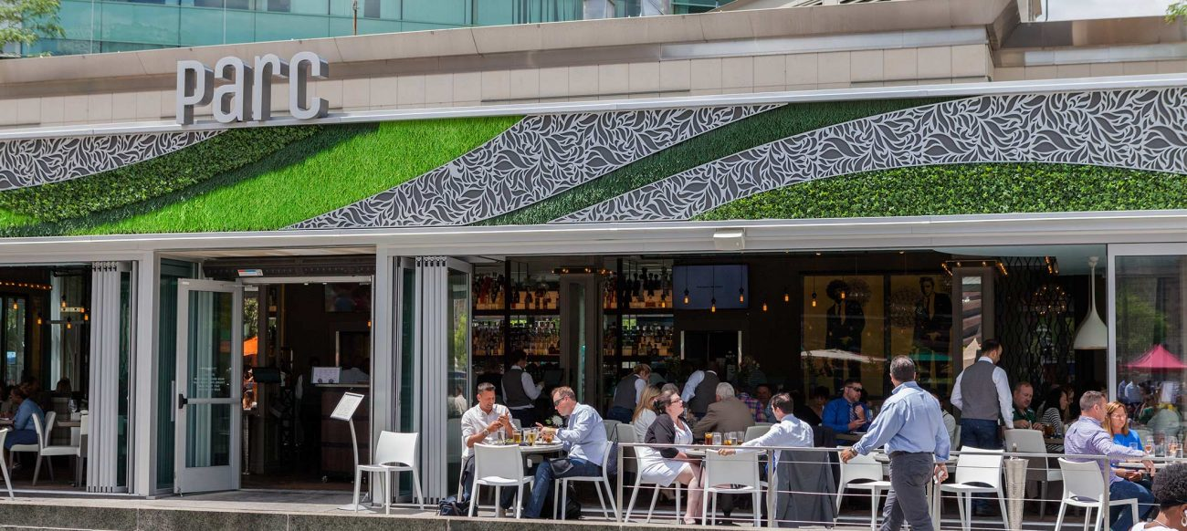 Parc restaurant in Campus Martius