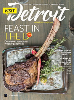 Visit Detroit magazine Fall 2017 Winter 2018 issue cover