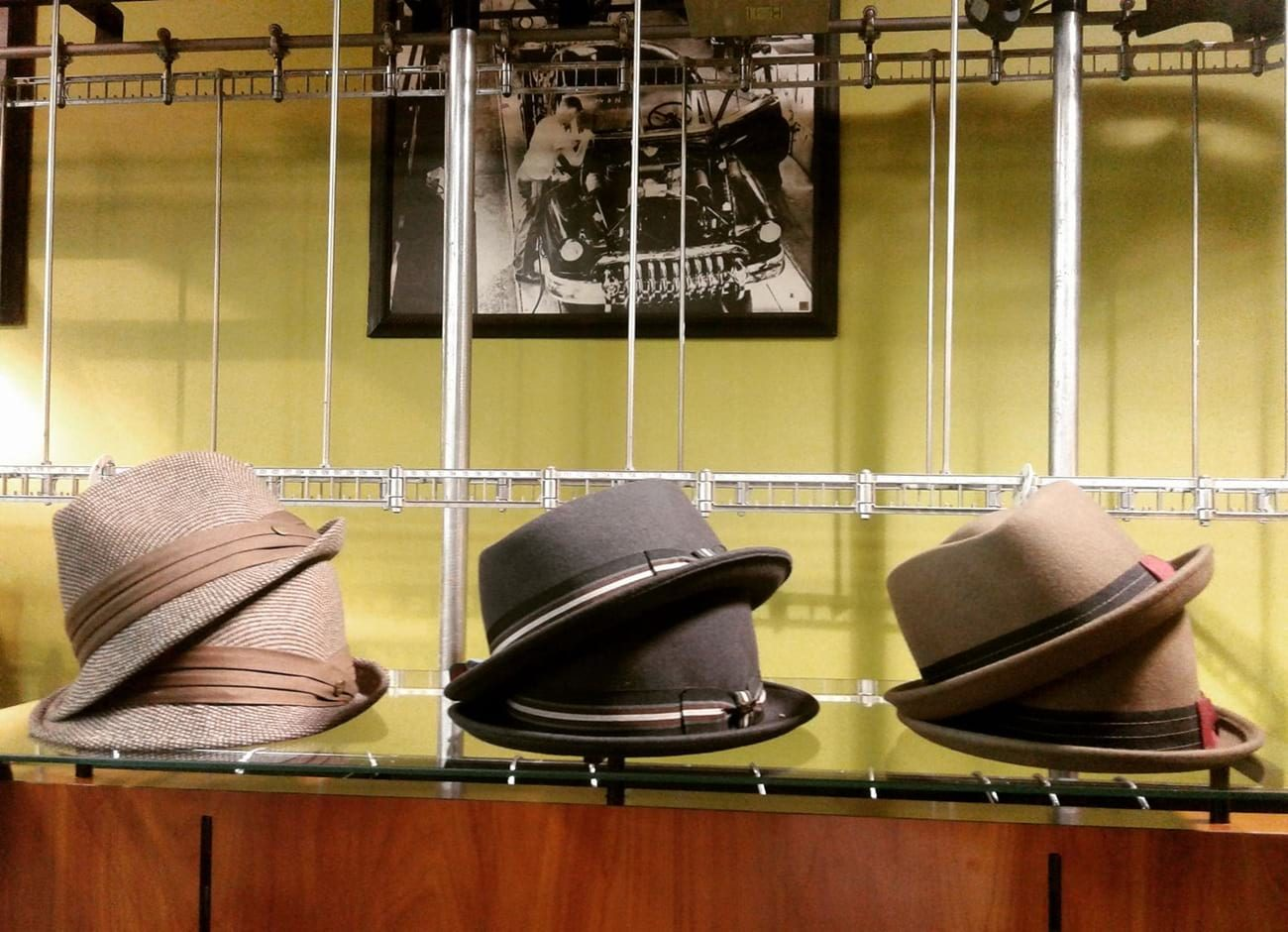 Hats at Simplycasual Clothingstore