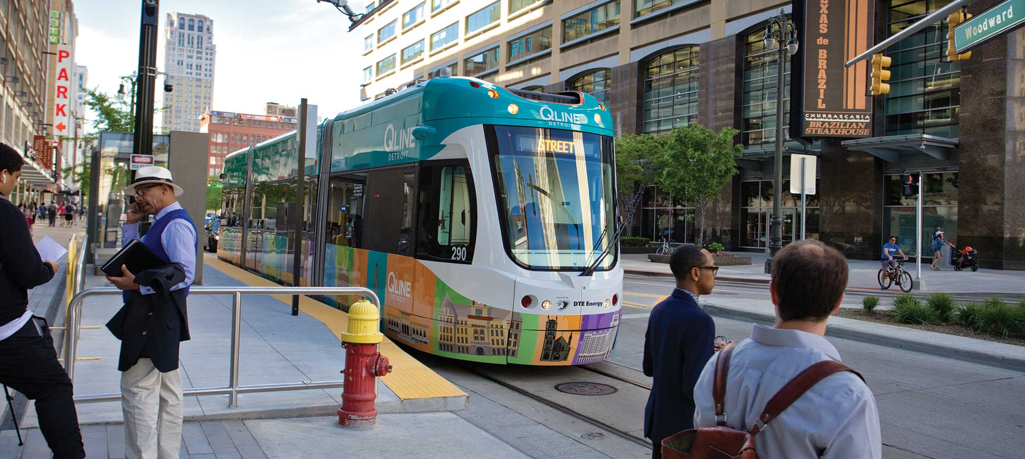 QLine in Detroit
