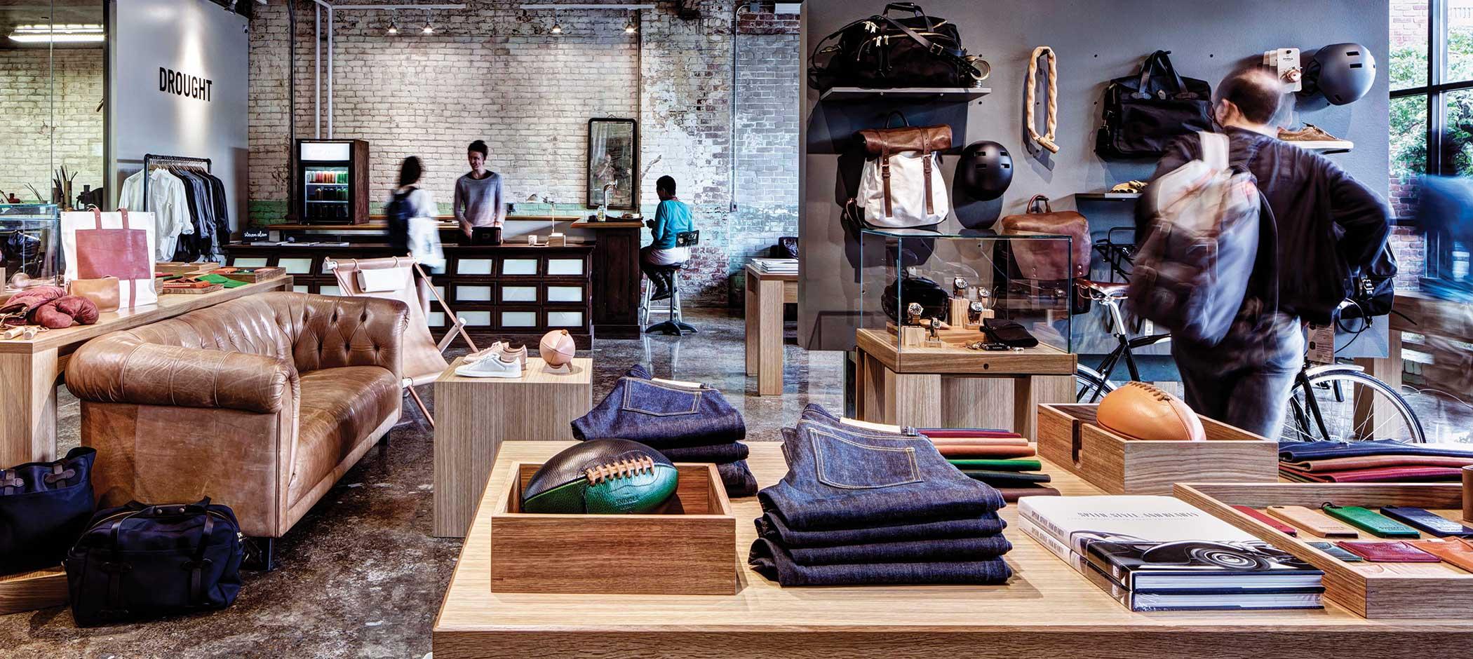 Shopping in Detroit at Shinola