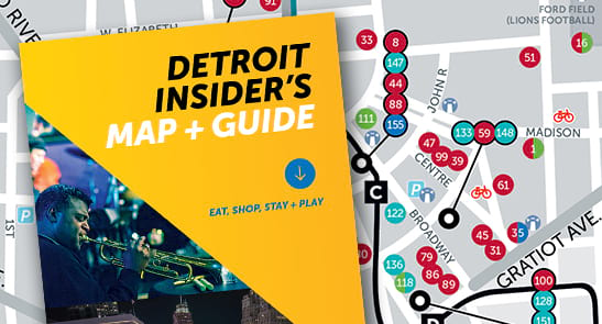Detroit Insider's Map + Guide